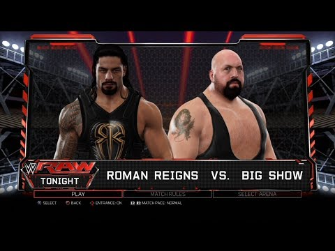 Xxx Mp4 WWE 2K17 PS3 Gameplay Roman Reigns VS Big Show 60FPS FullHD 3gp Sex