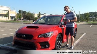 Review: 2018 Subaru WRX Limited (Manual)