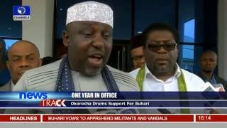 One Year In Office: Okorocha Drums Support For  Buhari