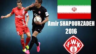 Amir SHAPOURZADEH | Iran/Germany | Würzburger Kickers | 2016