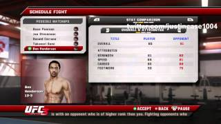 how to level up your create a fighter in ufc undisputed 3 maximum points part 2