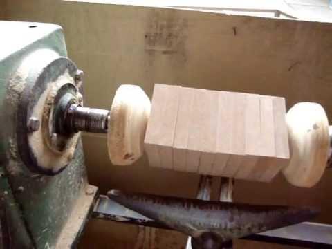 torneando madeira