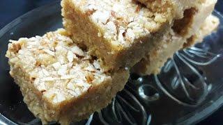 Milk Cake   Indian Milk Cake   Kalakand Recipe (Eggless Dessert)