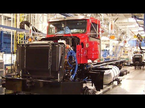 Kenworth Trucks Factory How american trucks are made