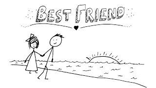 Jason Mraz - Best Friend - AMAZING Animated Lyrics Video!