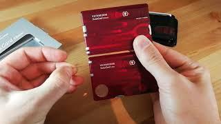 Victorinox Swisscard Classic vs. Lite