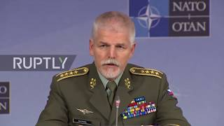 Belgium: NATO chief says Russia is a