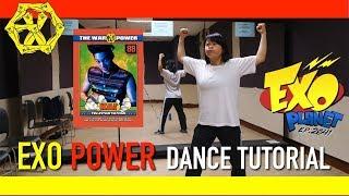 Exo Power Dance Tutorial | Full w Mirror [Charissahoo]