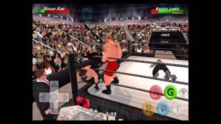 Seth Rollins (c) vs Brock Lesnar - WWE Battleground - Wrestling Revolution 3D