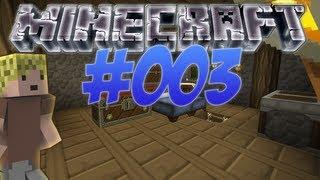 Let's Play Minecraft #2.003 - Baum! - mit Haus