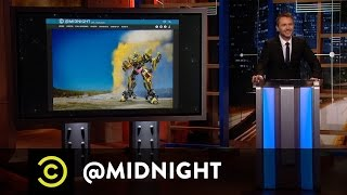 Parks and Rekt - Almost $200 in New Money - @midnight with Chris Hardwick