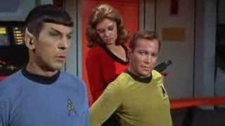 Captain Kirk's Backrub