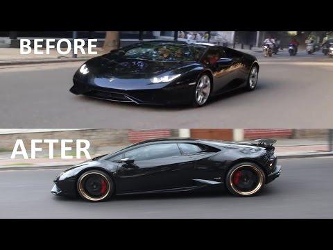 Xxx Mp4 AMAZING TRANSFORMATION Lamborghini Huracan STOCK To BLACK GOLD RsmSpec 3gp Sex