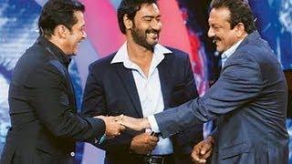 Why is Salman Khan Ajay Devgn's friend and not Shahrukh Khan