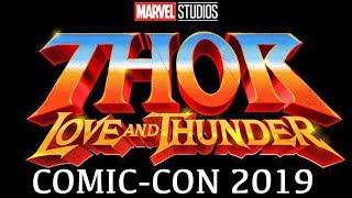 Marvel's Thor 4: Love and Thunder SDCC reveal (2021) MCU Phase 4