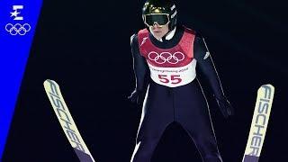 Ski Jumping | Men's Normal Hill Individual Highlights | Pyeongchang 2018 | Eurosport