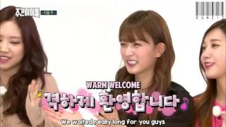 [ENG] 160928 MBCevery1 Weekly Idol - Apink Teaser