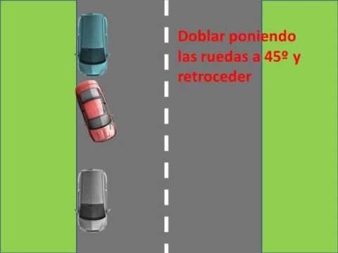 Pasos para estacionar