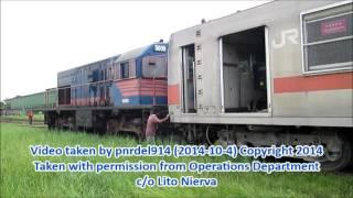 PNR Tutuban Terminal and Railroad Yard Scene