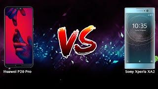 Huawei P20 Pro vs Sony Xperia XA2   - Phone battle