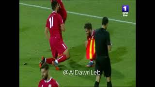 ملخص مباراة لبنان و الأردن الودية 1-0 بتعليق شربل كريّم و فارس كرم