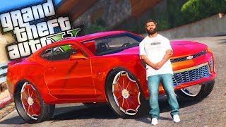 Franklins' New 2016 Camaro Donk!! - GTA 5 Trap Life - Day 5
