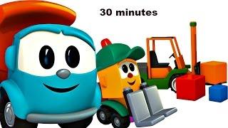 Compilation 30 min avec Léo le camion curieux. Dessin animé