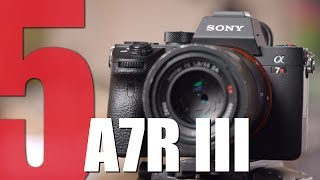 5 Reasons why our customers choose the Sony A7R III