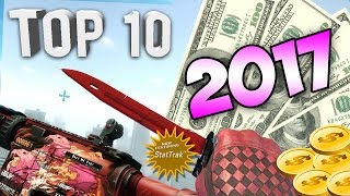 CS:GO - Top 10 Most Expensive Skins & Rare Weapons 2017! (Counter Strike Rarest Knives & Skins)
