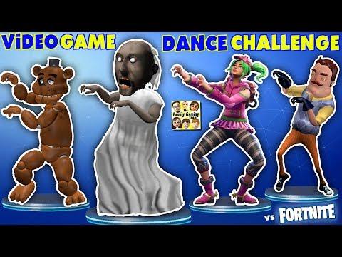 Xxx Mp4 GRANNY Vs BENDY Vs HELLO NEIGHBOR Vs FORTNITE Vs FNAF Vs ROBLOX CRAZY VIDEO GAME DANCE CHALLENGE 3gp Sex