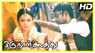 Oru Naal Koothu Tamil movie | scenes | Maangalyamae song | Ramesh-Nivetha and Dinesh-Mia unite