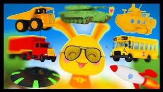 Apprendre les véhicules Part2 - Voiture, bus, Moto - Titounis Découverte -  Vroum vroum Touni