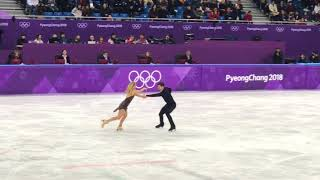 Hubbell and Donohue 2018 Pyeongchang Olympic Free Dance 109.94