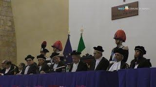 De Magistris all'Anno giudiziario della Corte dei Conti