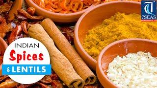 The Indian SPICES (Masala ) & Lentils Names in English to Hindi,Marathi Oriya and Telugu(Part 2)