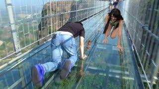 """أخطر 10 جسور فى العالم , """" لن تجرؤ على السير عليها """" .. !!"""