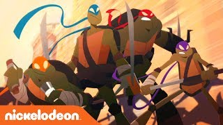 TMNT Summer Shorts: 'We Strike Hard & Fade Into the Night' | Teenage Mutant Ninja Turtles | Nick