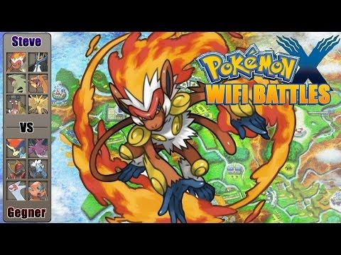 ★ Panferno dreht auf - Pokemon X Y WiFi Battle [German/Deutsch] [SuperFunTime]