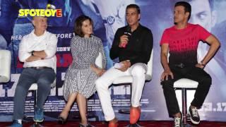 Taapsee Pannu, Akshay Kumar , Anupam Kher Promote Naam Shabana | SpotboyE