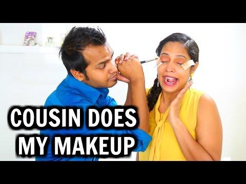 Xxx Mp4 Cousin Does My Makeup Makeup Challenge ShrutiArjunAnand 3gp Sex
