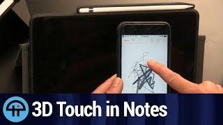iOS Tip: Pressure Sensitive Drawing Tools