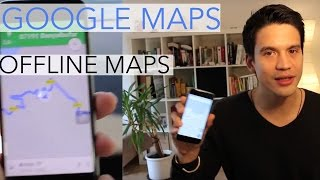 Google Maps Offline Navigation: Download and Save Your Offline Maps 2017 |Travel Apps