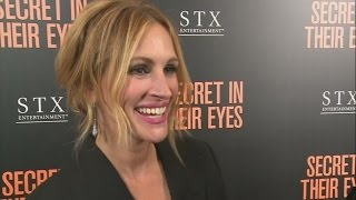 Julia Roberts praises Jennifer Lawrence at Secret In Their Eyes premiere in LA