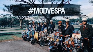 The #modvespa scene is truly #squadgoals