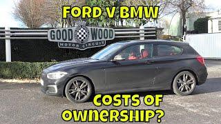 BMW M140i : day 43 : Focus RS v M140i depreciation