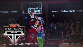 2016 Slam Dunk Contest | Sport Science | ESPN Archives