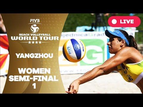 Xxx Mp4 Yangzhou 4 Star 2018 FIVB Beach Volleyball World Tour Women Semi Final 1 3gp Sex