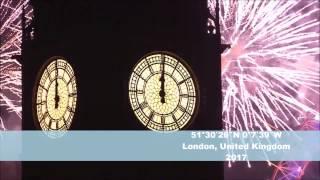 AMAZING FIREWORK COMPILATION 2017 - LONDON DUBAI SINGAPORE NEW YEAR - LIVE HD