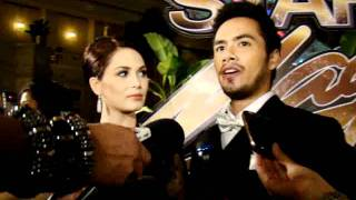 Kristine Hermosa and Oyo Sotto at the Star Magic Ball