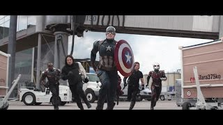 Captain America: Civil War | Airport Scene | Marvel NL